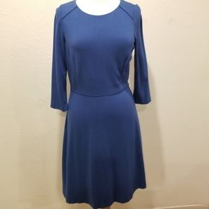 NWT Antonio Melani blue Ponte dress, size 10